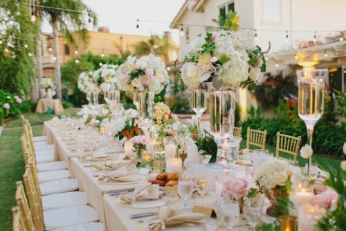 Garden Themed Wedding Reception Ideas The Gardening