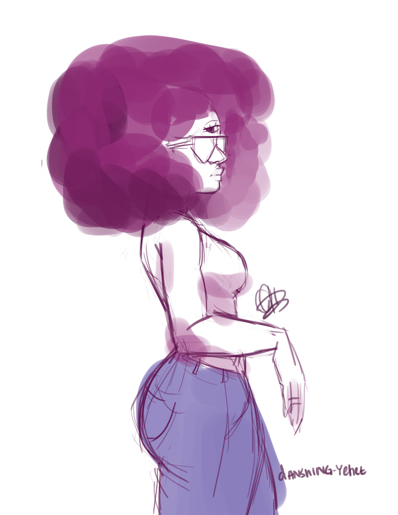 why not add an amethyst and garnet to the mix?