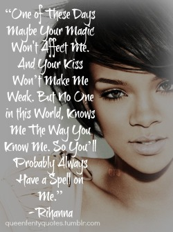 Rihanna song quotes