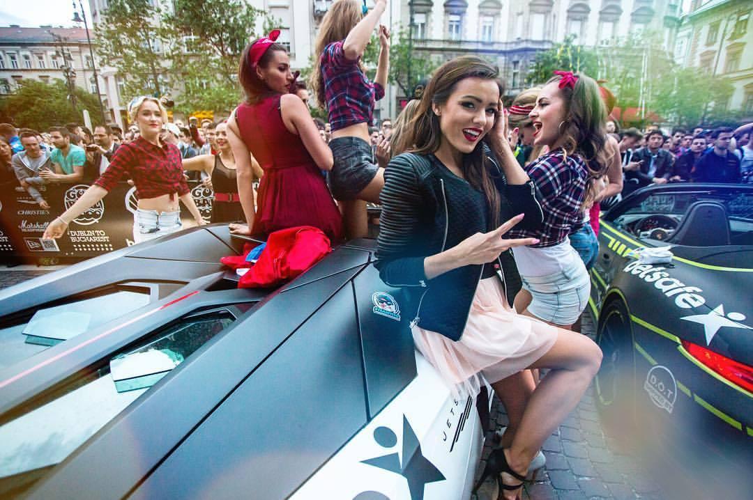 Mad welcome in Budapest! #gumballlife #gumball3000 #dublintobucharest #gumballmediahäus (at Ritz Carlton Budapest)