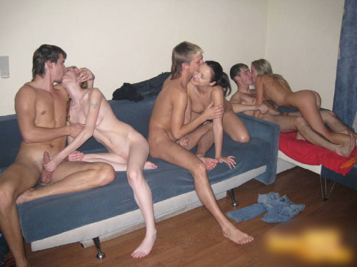 Teens party on cam