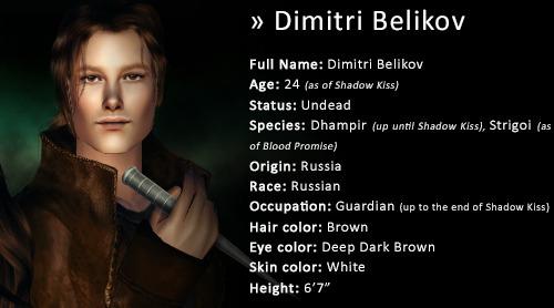 Dimitri Belikov And Rose Hathaway Kiss
