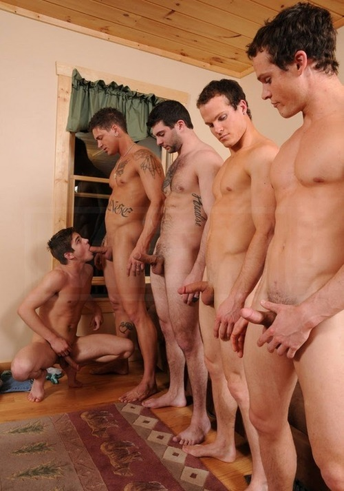 Gay orgy hot