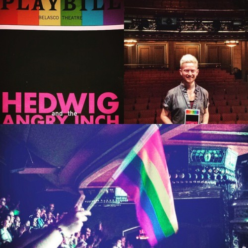 Rainbow - Fan Comments and Reviews, and Comments from others, who saw Darren in Hedwig and the Angry Inch on Broadway  - Page 2 Tumblr_nqoqan6HRg1r4gxc3o1_500