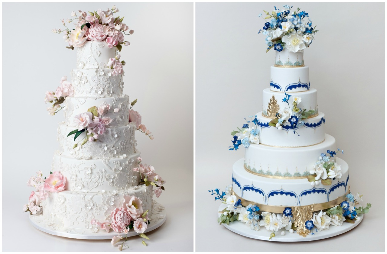 FROM THE GRAPEVINE — 8 of the most elaborate wedding cakes
