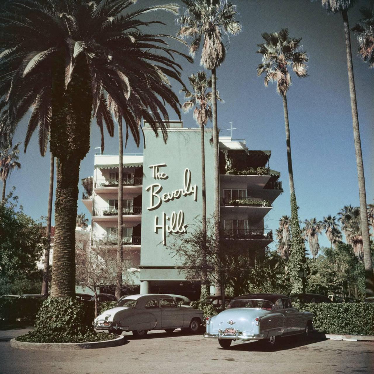 The Beverly Hills Hotel - 9641 Sunset Boulevard, Beverly Hills, California U.S.A. - 1957