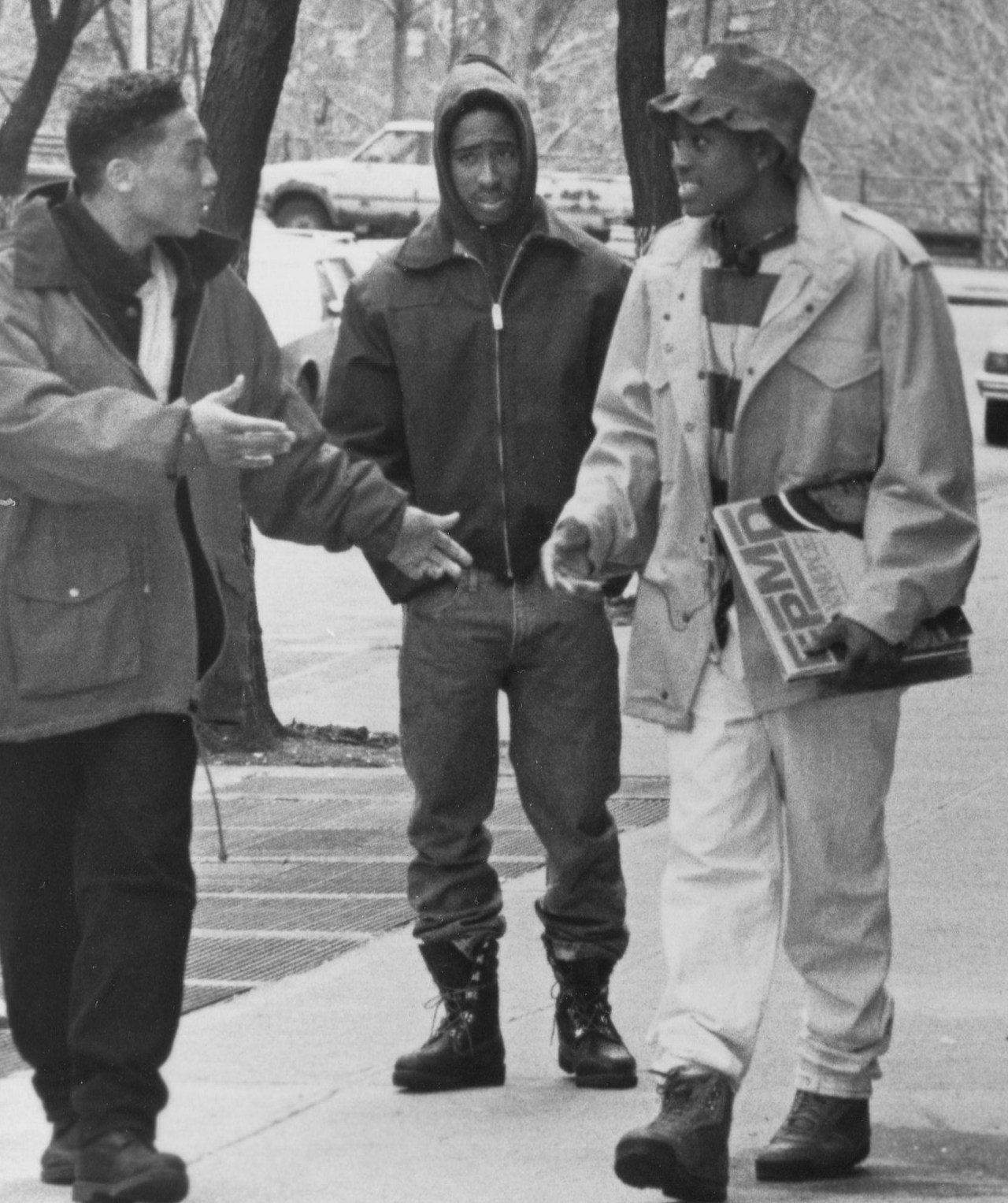 1992 with khalil kain and omar epps in juice viva la tupac