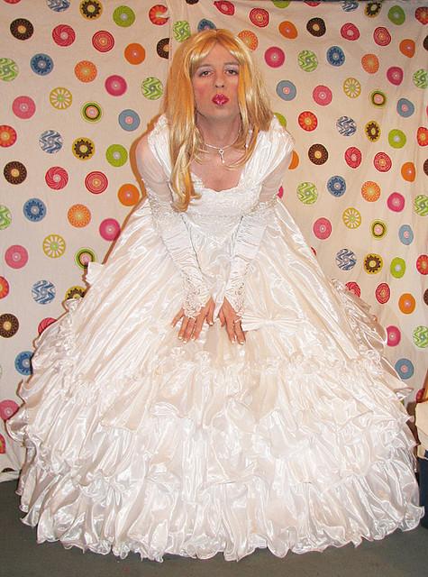 This Beautiful German Bridal Crossdresser Is The