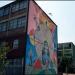 """El Museo a Cielo Abierto en San Miguel es a Diciembre del 2013 un conjunto de treinta y siete murales ubicados al sur de la ciudad de Santiago de Chile y que suman cerca de 3.700 mts2 de pinturas de gran formato en la vía pública, que mezclan el muralismo y el Graffiti. (Mural """"Meli Wuayra"""" Fotos Cecilia Profetico)"""