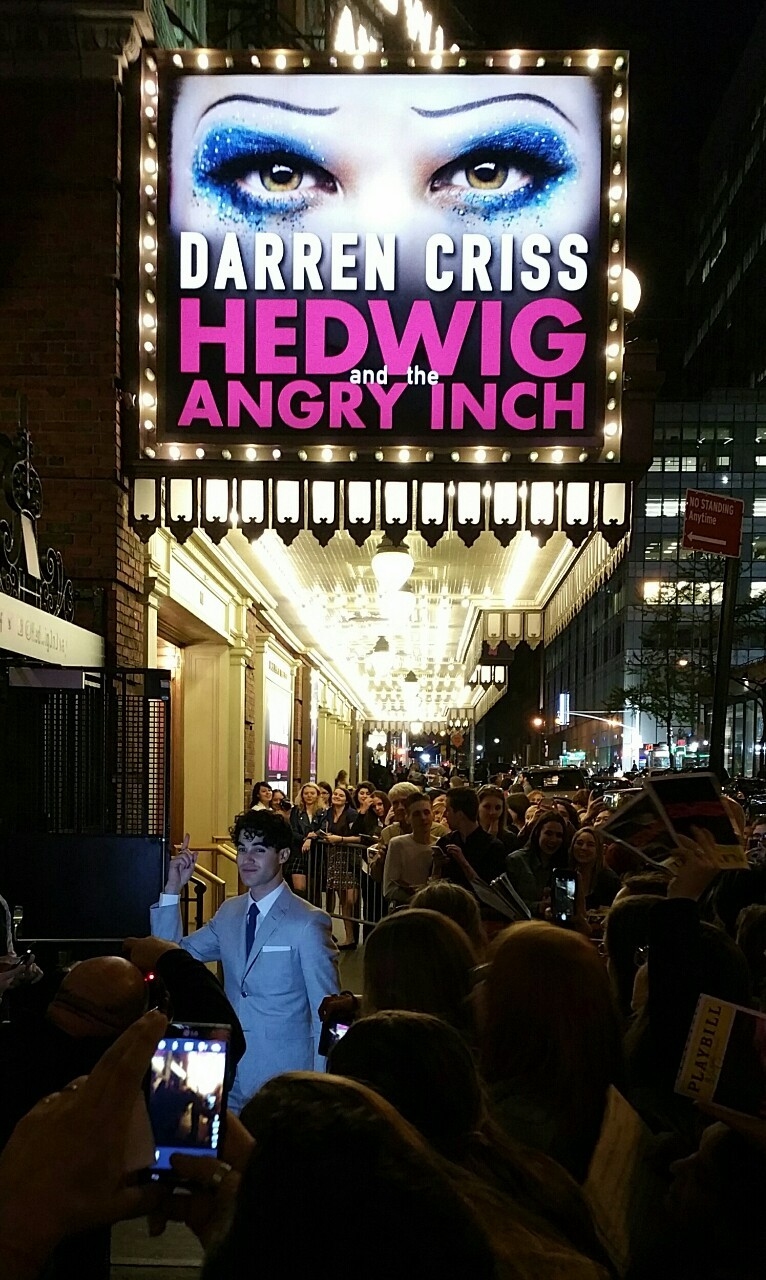 DarrenIsHedwig - Pics and gifs of Darren in Hedwig and the Angry Inch on Broadway. - Page 2 Tumblr_nnlyt5hrdA1qzmthro1_1280