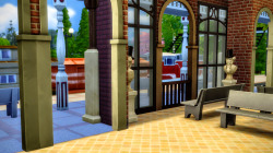 redhotchilisimblr:Willow Creek Train Station* 🚂🚋🚋🚋i was super inspired by this lot from TanistasSims ! so i had to make my own train station (set as a museum). it's base on old train stations architecture in france. there's still a lot of them in the countryside and most of nowdays train stations have an very good mix between old and new. because most of the train stations are considered as historic monuments, the mayor have to keep the shell of the building even if he or she wants to renovate or modernize the interior. i really love what my country have done with most train stations : each one of them is really different even thought they came from the same past or city. you can go to the south of the country and there's palm trees inside the station, or go in the north and have small food shop all around the place with beer and stuff. some train stations have unusual places like around a lake (east), just right next to horses or cows (west) or in the middle of a corn field (center). that's what i love the most about my country : it's so diverse and you never know what you'll find. :)anyway, i need to add details, a cash desk and set up a group of 2 or 3 employees just to have somebody here time to time. it's still a wip, but i'm so proud of it ! i think it's could be a great addition to the map because in san myshuno there's a train/metro. so i'll use it as a place to travel from willow creek to san myshuno. :)This is such a beautiful lot! As I told @redhotchilisimblr, I'm totally ready to chuck my builds out the window and just use hers. Seriously. XD