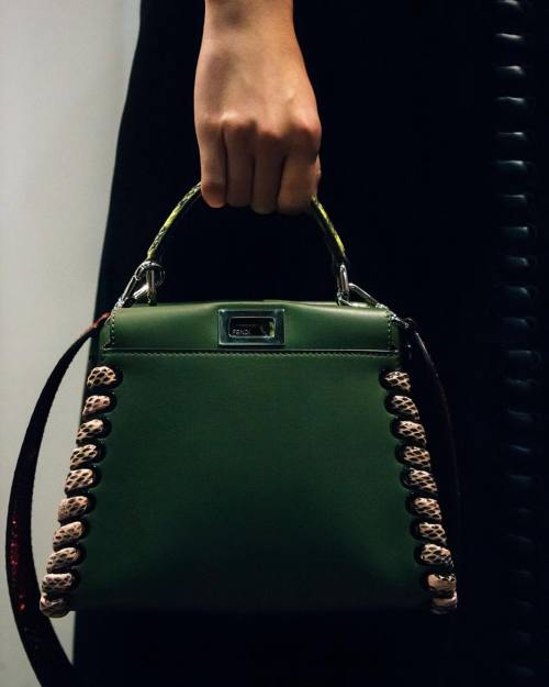 "miumiuceline: "" #FendiBackstage 
