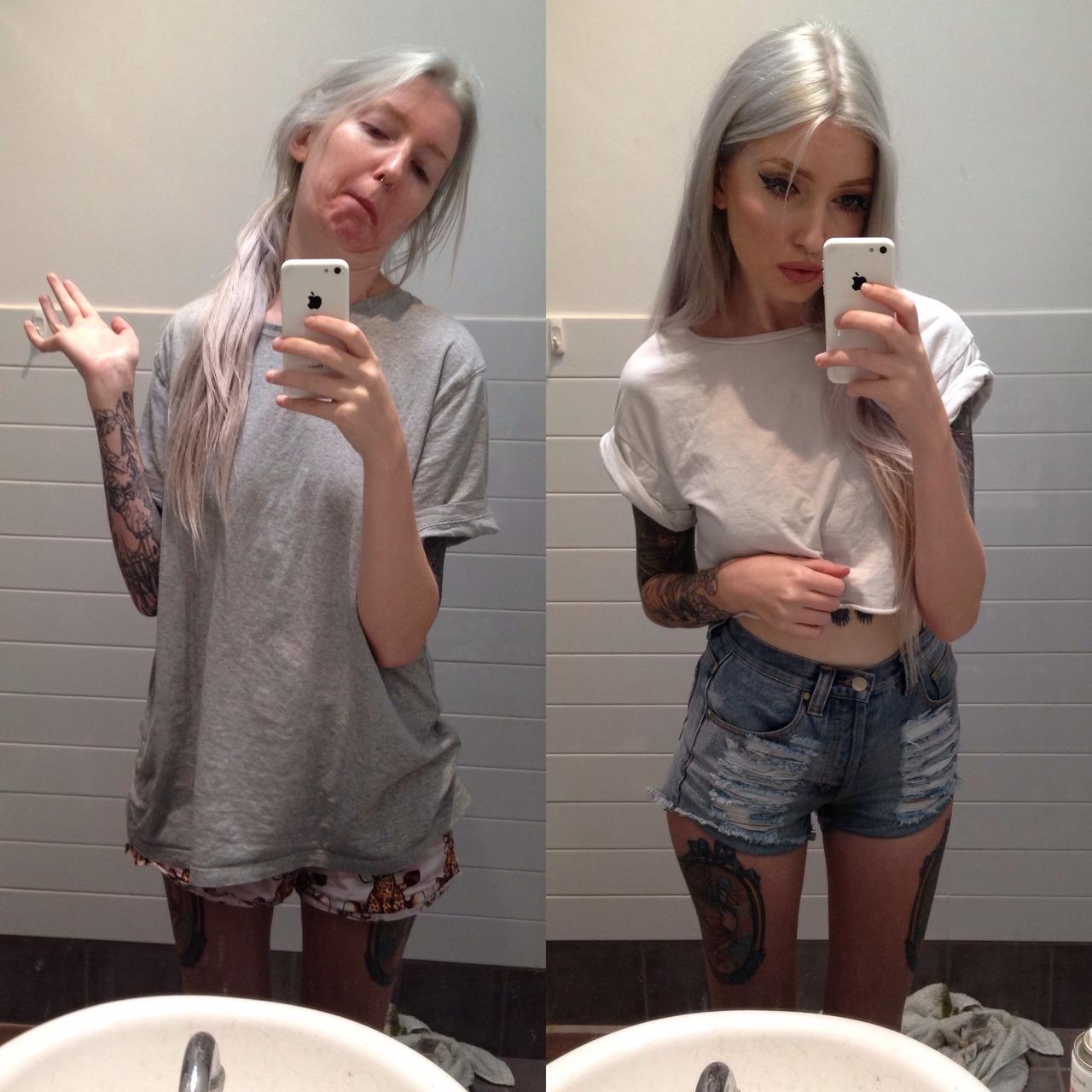 Фотоальбом девушки в ванной 13 фотография