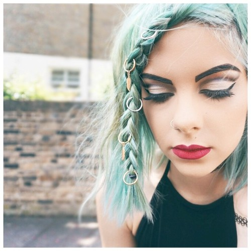 Sophie Hannah Richardson Regalrose Hair Rings Perfect For Festivals And