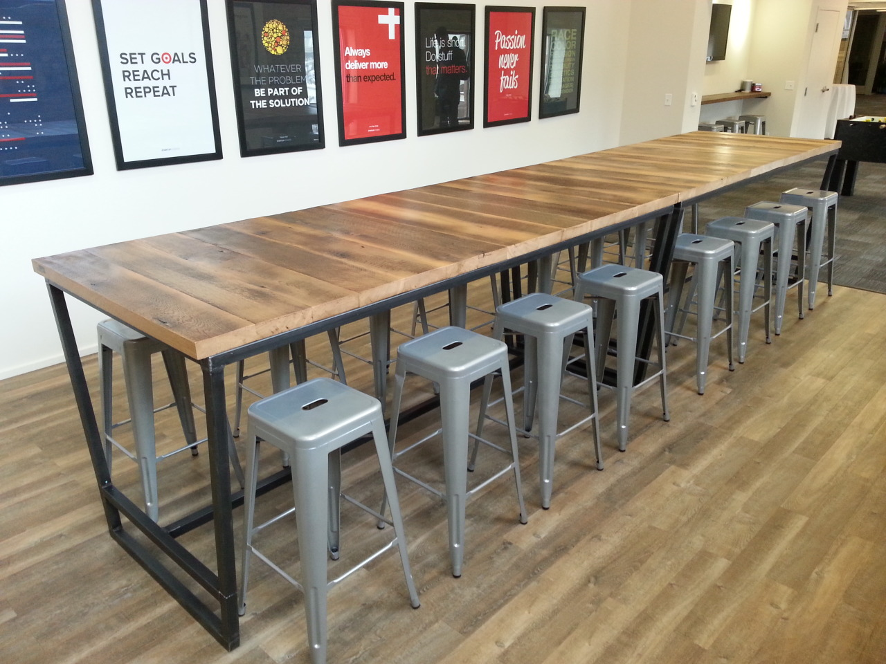 Re Dwell Custom Crafted Furniture Conference Room