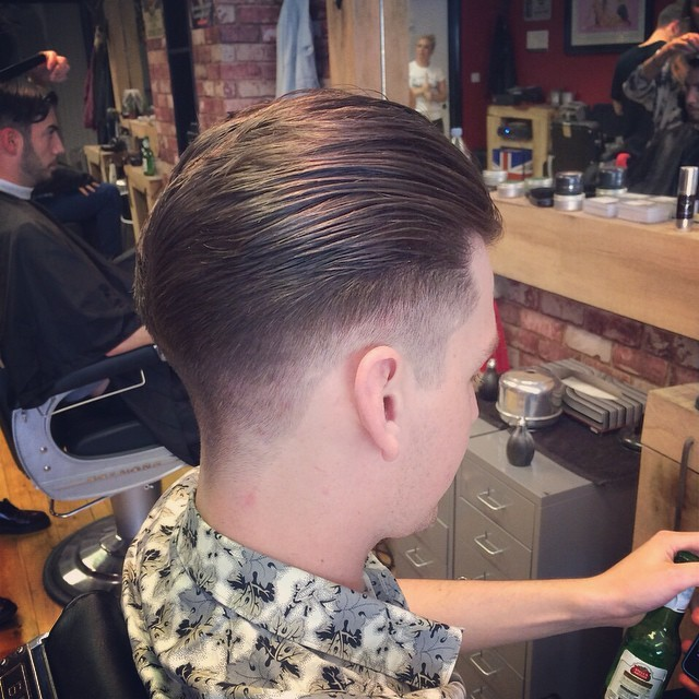 Bucks Barbers — Gents cut by @fayziexx #classic #beer #fade...