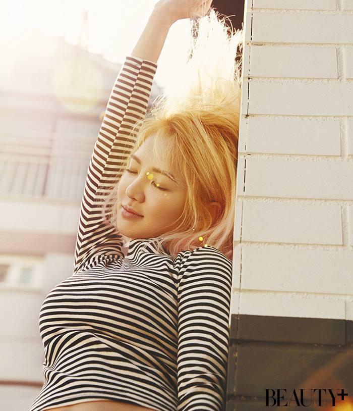 SNSD Hyoyeon (효연; ヒョヨン) Beauty+ Magazine April 2016 Images 05