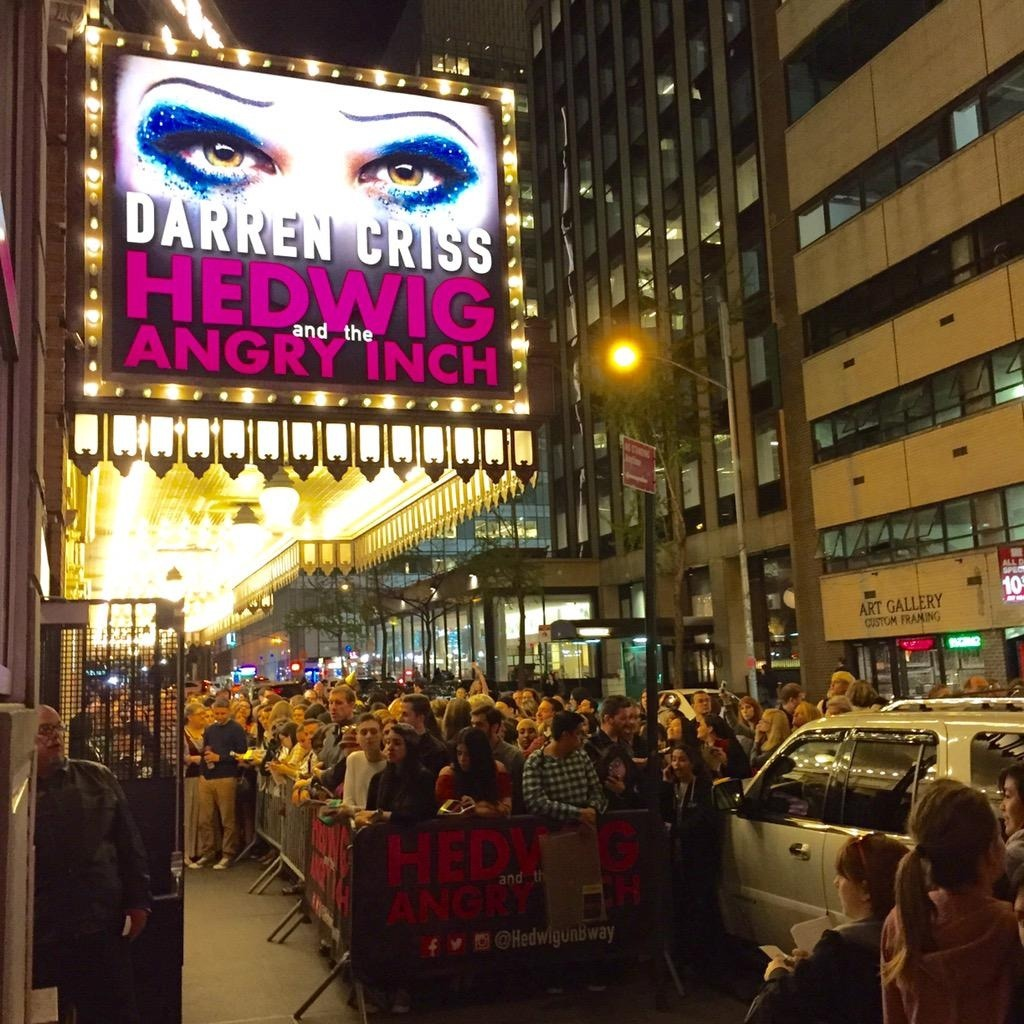 DarrenIsHedwig - Pics and gifs of Darren in Hedwig and the Angry Inch on Broadway. - Page 2 Tumblr_nnllnhHkgb1r4gxc3o1_1280