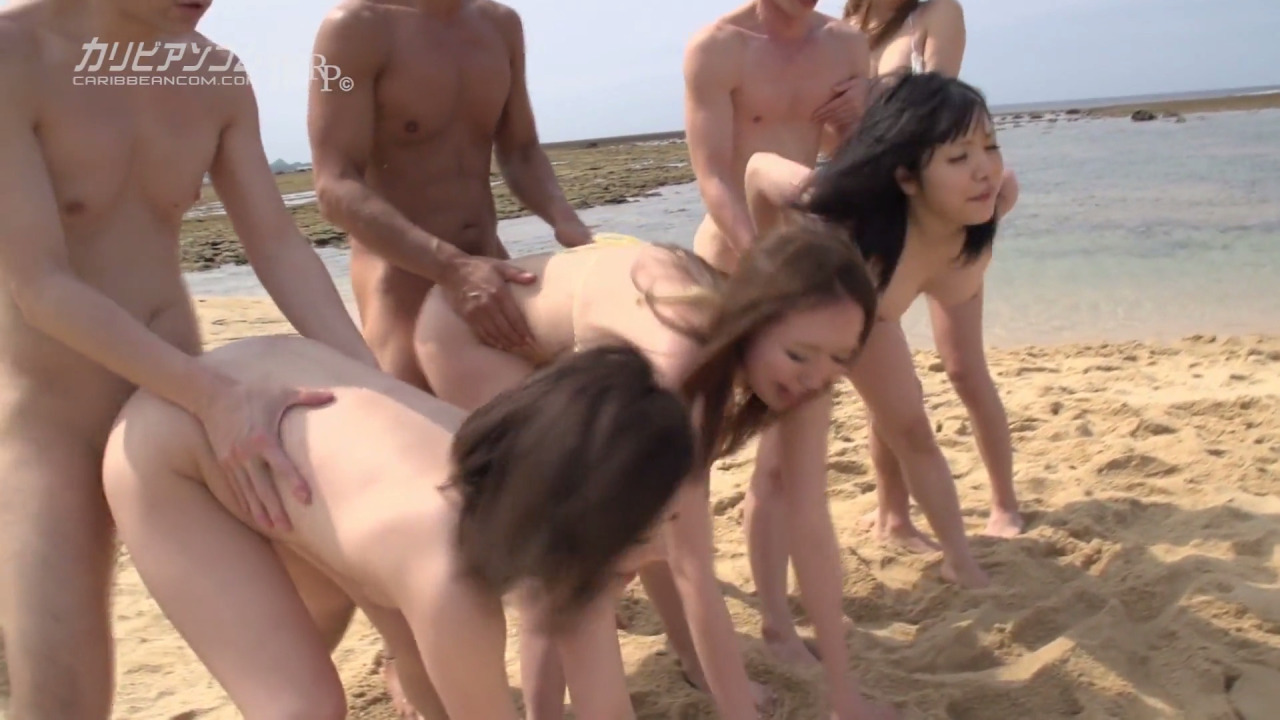 Public group sex orgy threesome gangbang 10