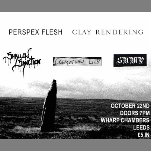 Clay Rendering live in Leeds next October.