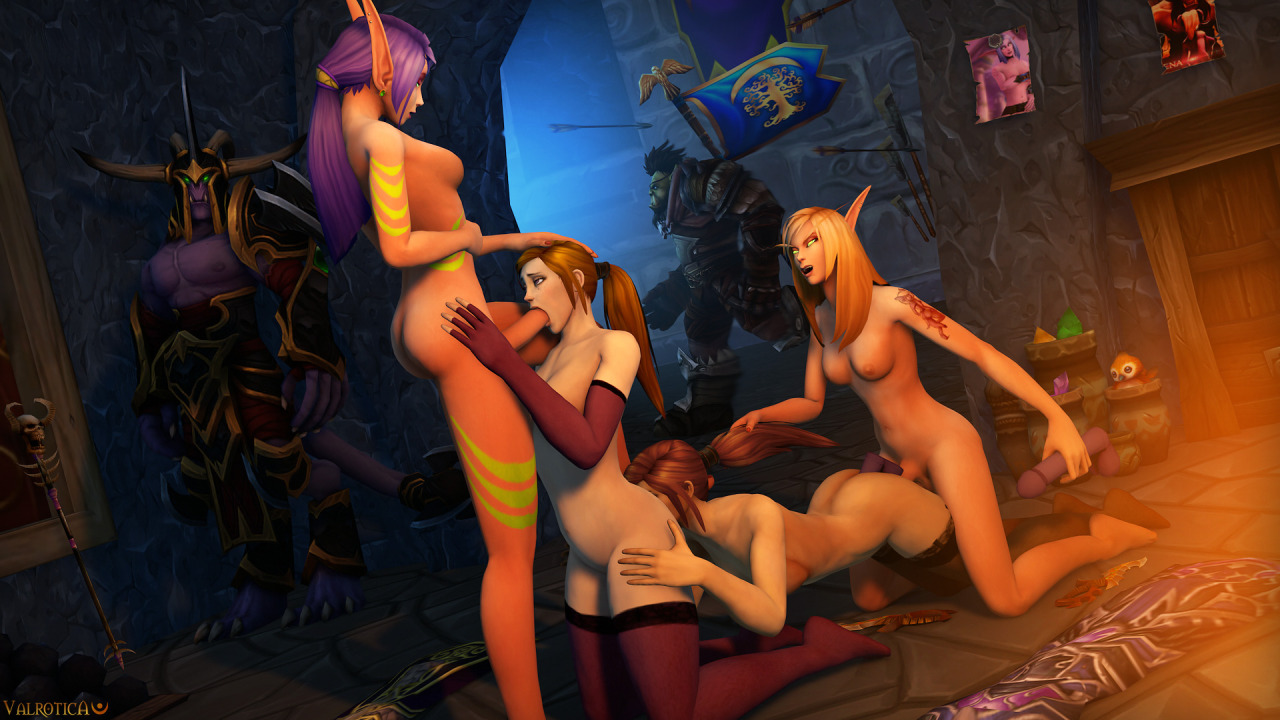 3d World of Warcraft porn v34 exposed toons