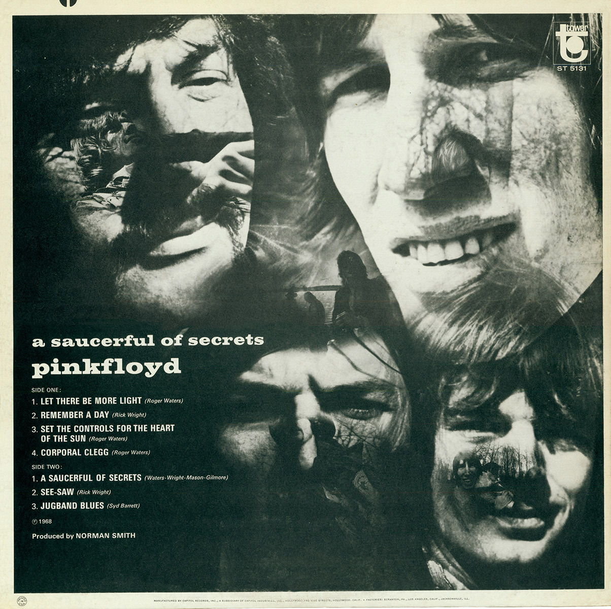 Album Of The Week The Cover For Pink Floyd S A Saucerful