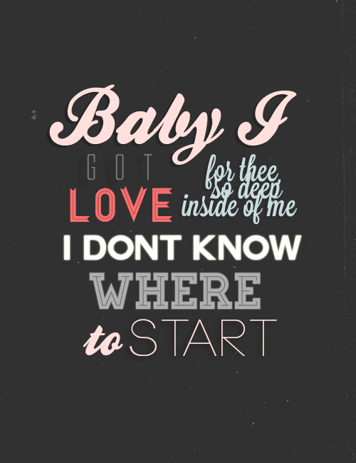 Anyone else can't focus on anything else it has the word 'BABY' in it?