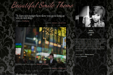 Beautiful Smile Theme