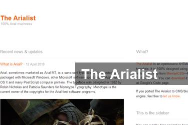 The Arialist