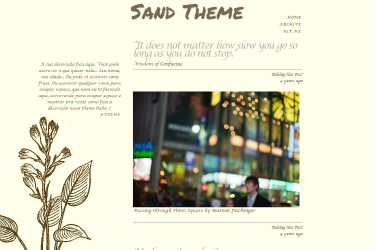 Sand Theme
