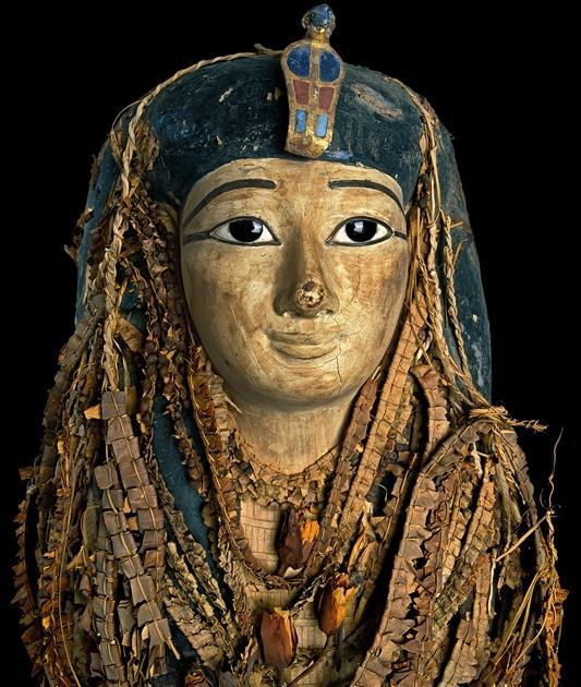 how to make an ancient egyptian death mask