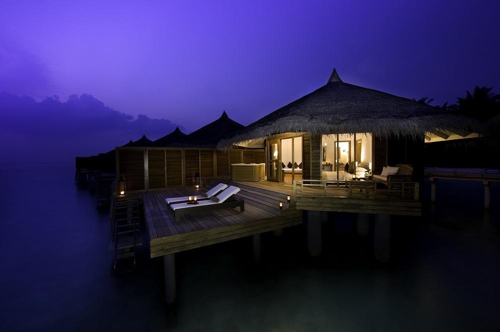 kuramathi island resort maldives located in luxury accommodations. Black Bedroom Furniture Sets. Home Design Ideas