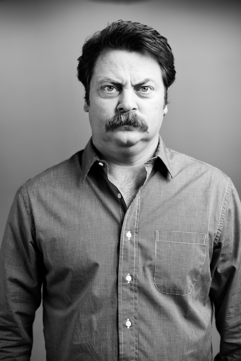 Nick Offerman Movember