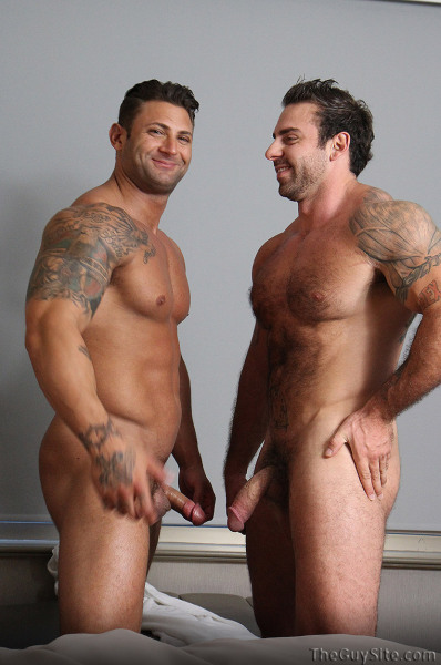 Fact: Tattooed men are hot. Smooth or hairy, large or modest.