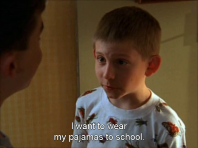 me every day school want to wear funny quote lol cute pajamas cool awesoem haha funny malcolm in the middle 90& 039;s kid fashion