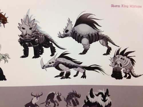 Mlp Storm King Concept Art