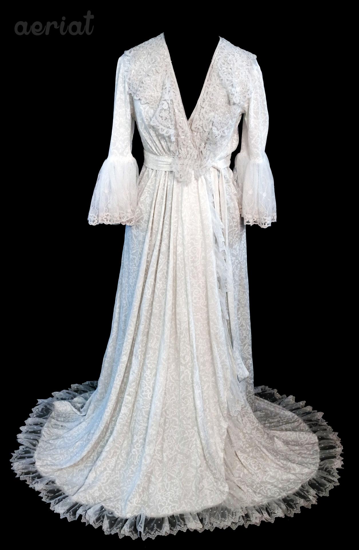 Aeriat Christine Daae Inspired Bridal Robe