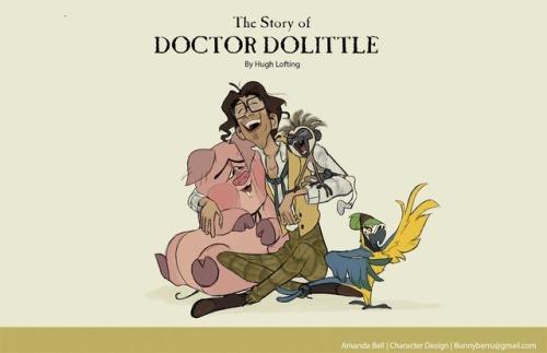 Dr dolittle characters