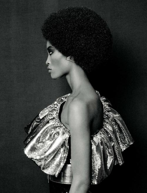 Alicia Burke wonderland magazine fashion top black models style beauty African beauty Jamaican top models FYESOB alex sainsbury good riddance Hedi Slimane!