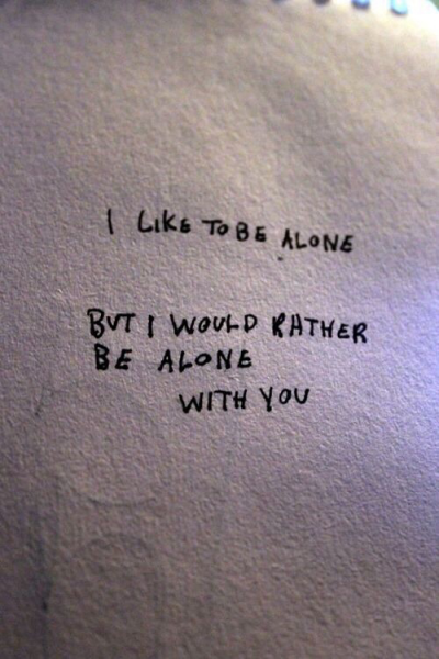 Happy Alone Quote Tumblr