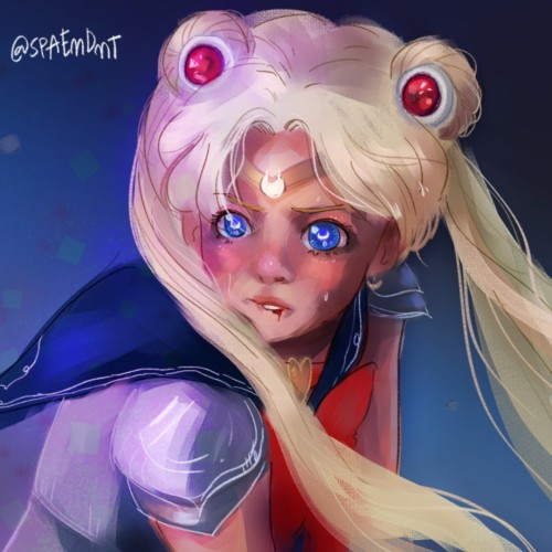 My turn on the #sailormoonredraw and an excuse to livestream. Totally want to do more of these#spaeart #instaart #artstagram #fanart #sailormoonfanart #セーラームーン #digitalart #clipstudiopaint #wacom #canberraartist https://instagr.am/p/CAcBAXBhELO/