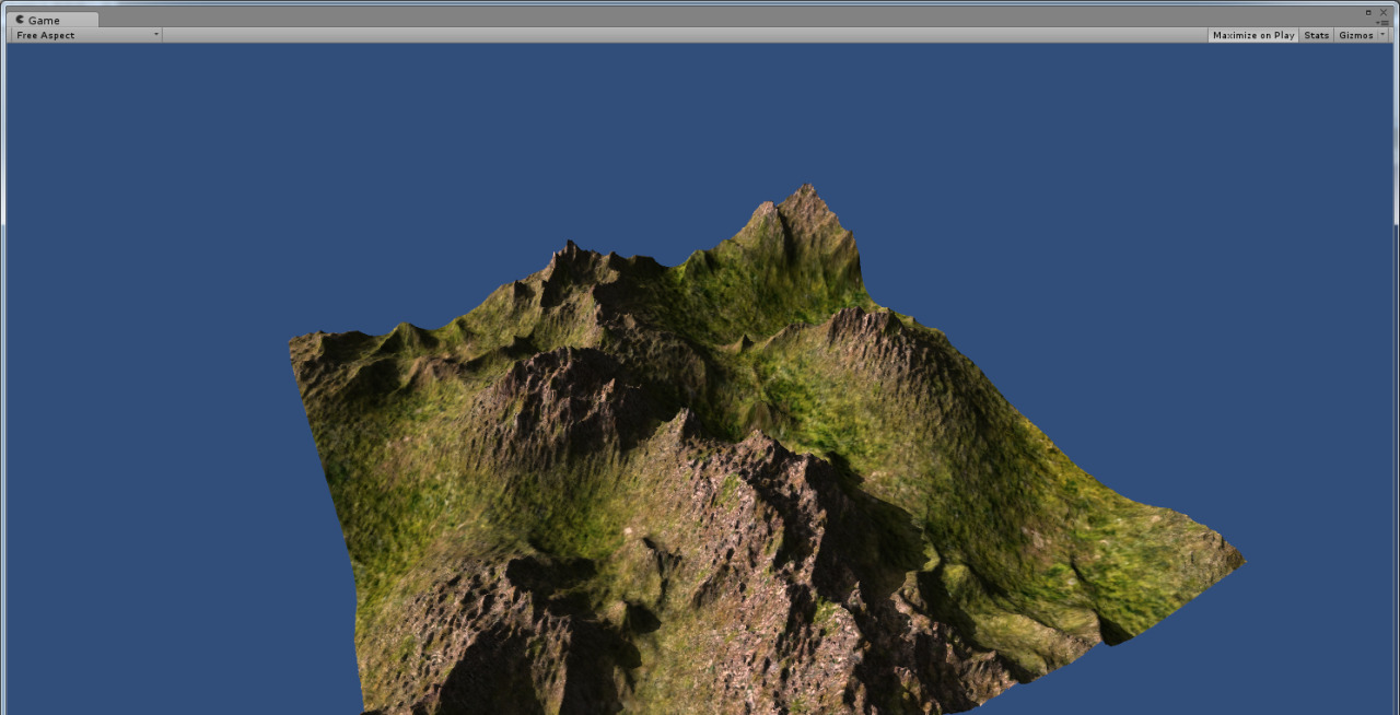Archived Chaos — Terrain Generation in Unity3D (2014)