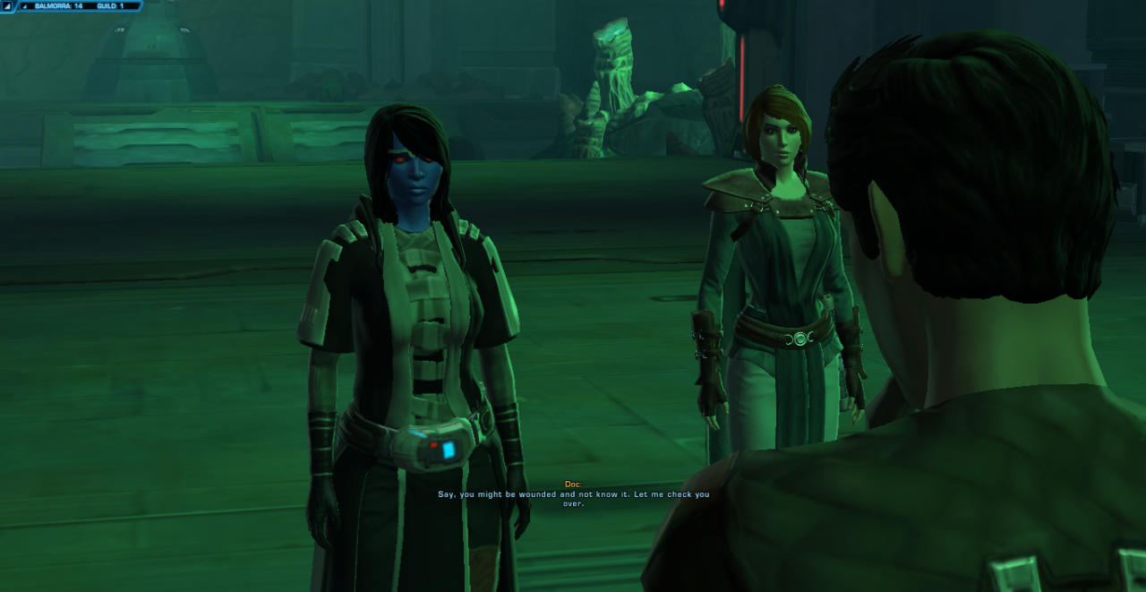 #SWTOR tag#Ygdriaze #already talked about this on Discord but D0c is soooo much more tolerable this time around  #bc to quote something a while back:  #I met some of the most insufferable people. But they also met me -Iaze about D0c