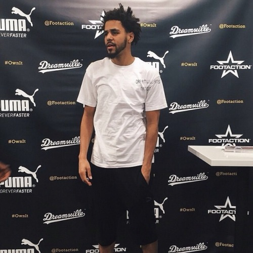j. cole footaction meet and greet los angeles