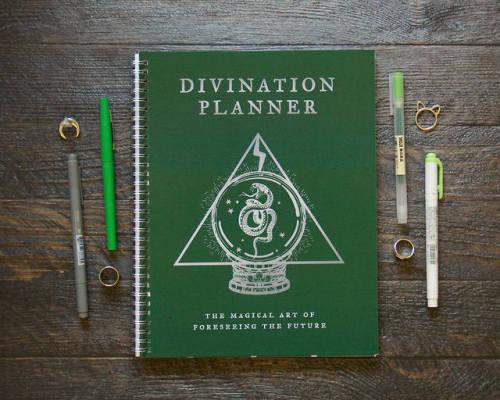 stationery notebooks harry potter hogwarts slytherin witchy etsy