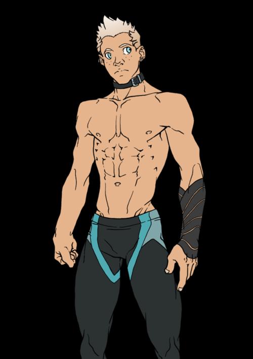 Sakuseii original character shirtless surfer artists on tumblr