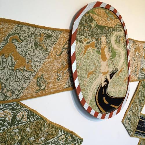 plants madison weaving textileart fibers animals swoon artmadison illustration art botanicalillustration fiberart textiles