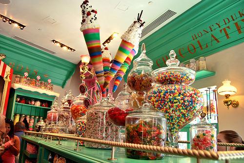 harry potter honeydukes candy hogsmeade