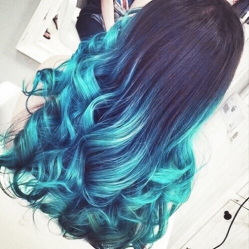 Ombre hair tumblr