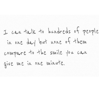 You Make Me Smile Tumblr